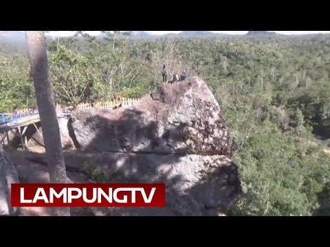Membuktikan Kapal Batu Terdampar di Pegunungan Tanggamus