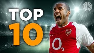 Top 10 Premier League Goalscorers