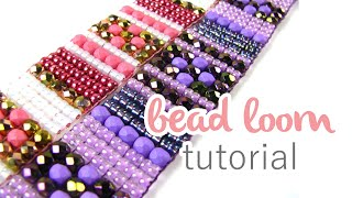 Beading on a Loom with Spoilt Rotten Beads