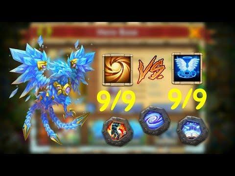 Lazulix L 9SL VS 9 Revive L Castle Clash
