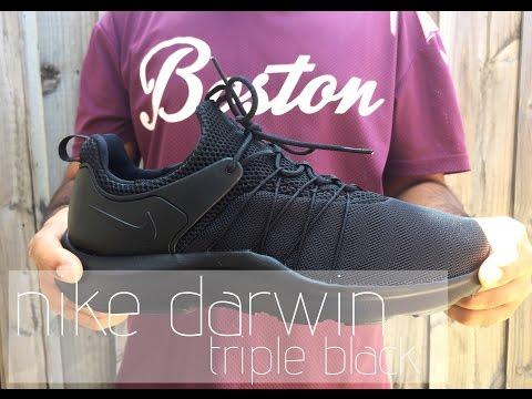 Nike Darwin | Triple Black - On Feet Review
