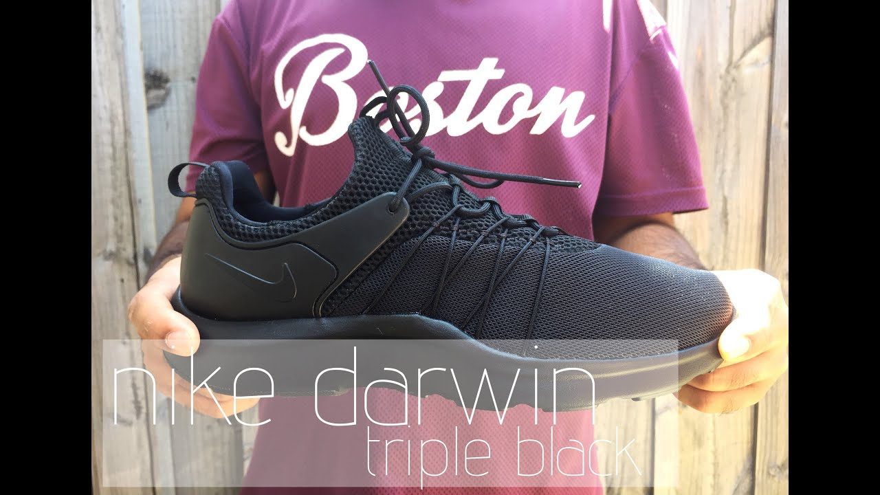 nike dunk zéro canal à vendre - Nike Darwin | Triple Black - on feet review - YouTube