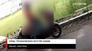 Viral Video Pengendara Motor Onani