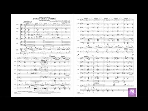Sweet Child O' Mine  arranged by Larry Moore