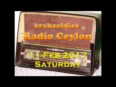 Radio Ceylon 11-02-2017~Saturday Morning~02 Purani Filmon Ka Sangeet