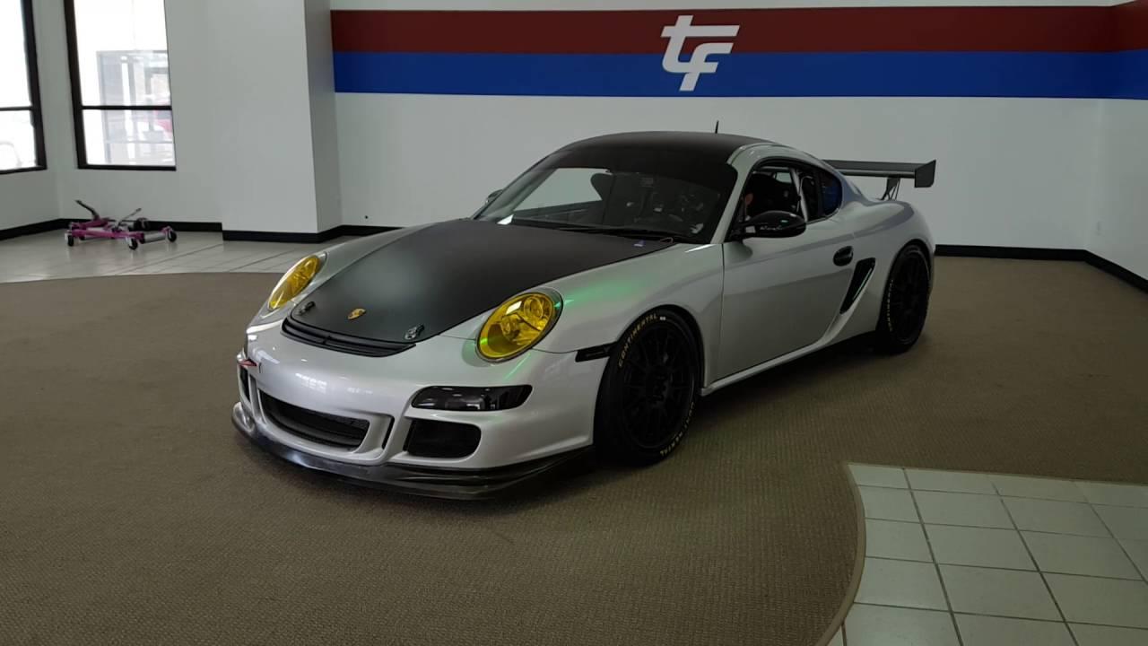2006 PORSCHE CAYMAN S RACE CAR