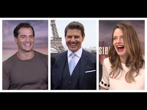 MISSION: IMPOSSIBLE - FALLOUT Interviews: Tom Cruise, Henry Cavill, Ferguson, Pegg, McQuarrie