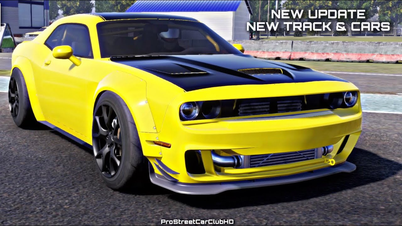 (PS4) CarX Drift Racing Online: New Update + Drifting On The New Track Track w/Hellcat Remake