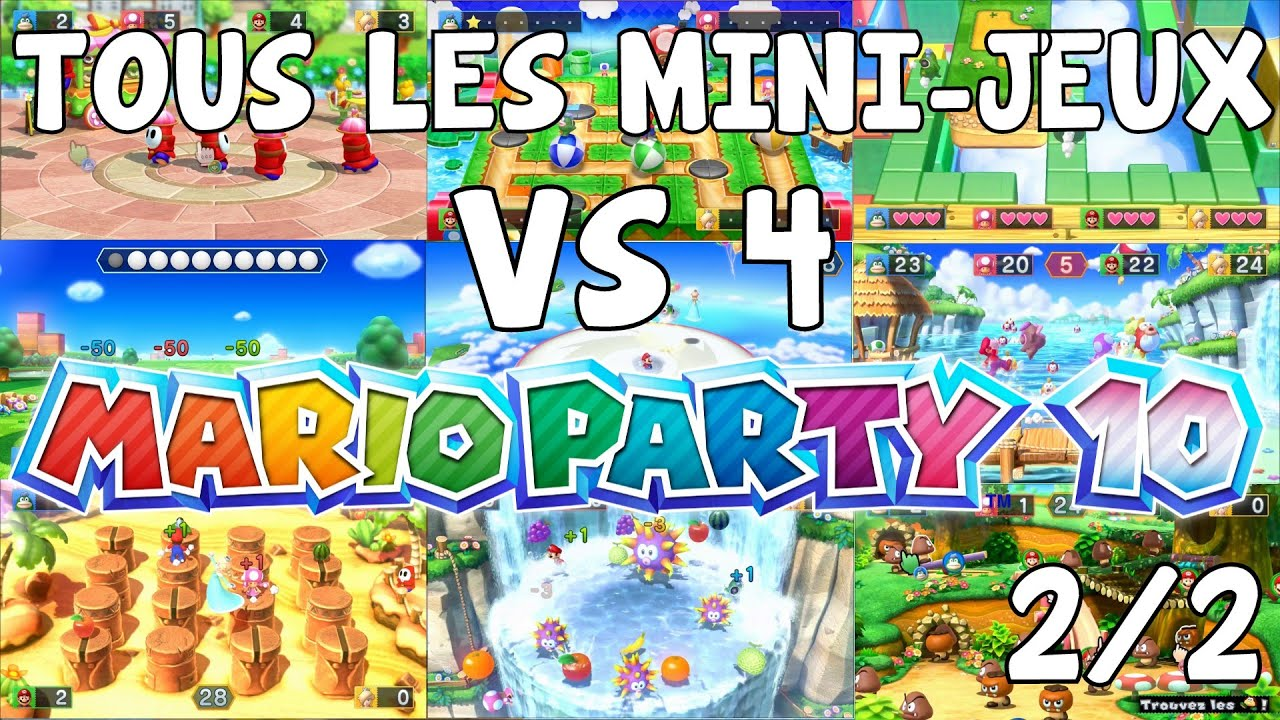 let 39 s play episode 7 mario party 10 fr nintendo wii u tous. Black Bedroom Furniture Sets. Home Design Ideas