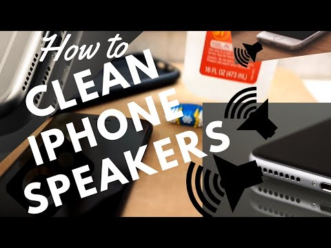 How to clean iPhone Speakers