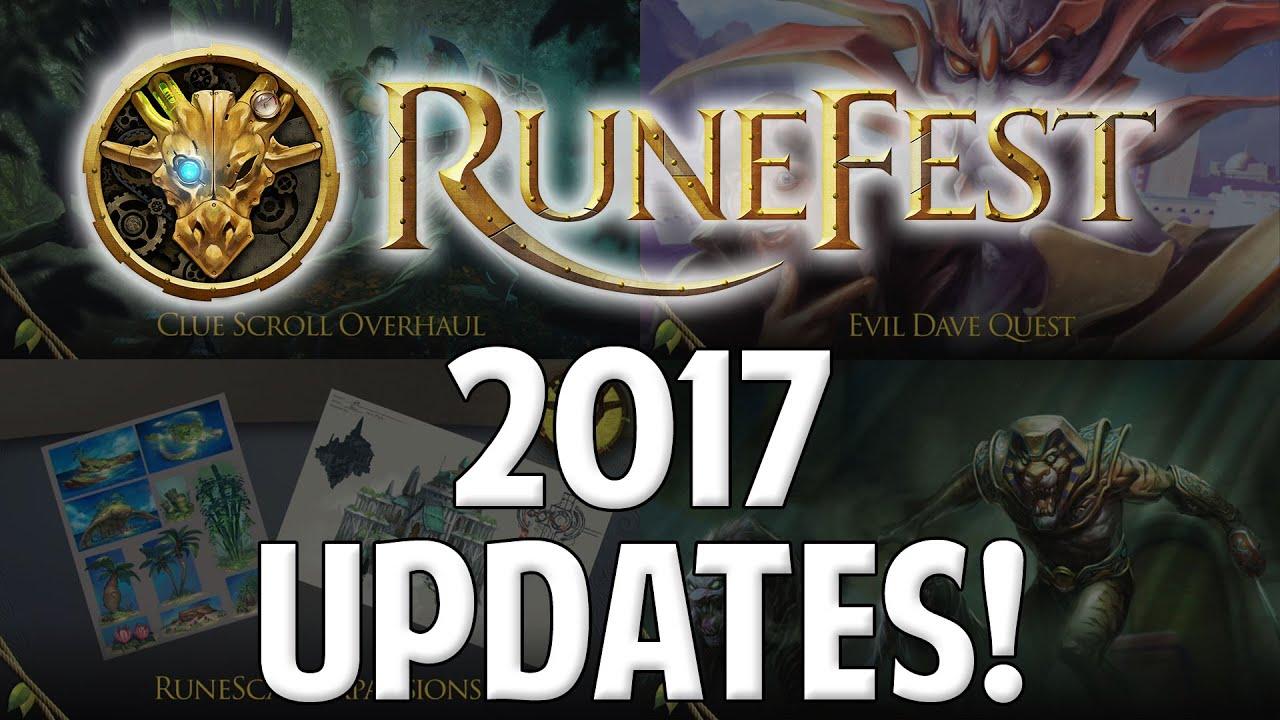 Runescape 2017 Updates