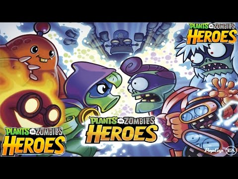 Plants vs  Zombies Heroes (by Electronic Arts) - iOS / Android HD Gameplay Trailer iPhone 7 Gameplay