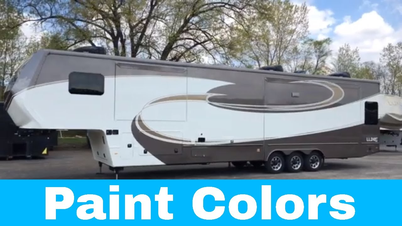Luxe luxury 5th wheel - Paint Colors