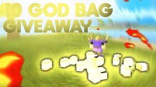 10 GOD BAG GIVEAWAY!! (Roblox Booga Booga Giveaway)