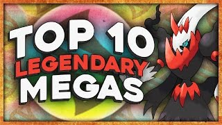 Top 10 Legendary Pokemon That NEED A Mega Evolution