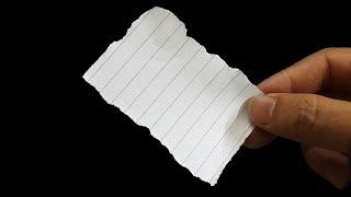 Один из лучших фокусов с бумагой