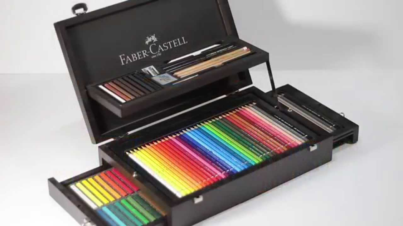 Faber Castell Pinturas Acuarelables Boite Faber Castell - Art&graphic Collection - Youtube