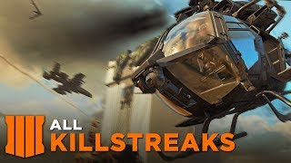 ALL SCORESTREAKS (All Multiplayer Killstreaks Showcase & Gameplay) - Call of Duty: Black Ops 4