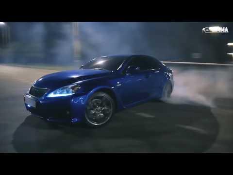 Mercedes CLS63 vs Lexus IS F drift