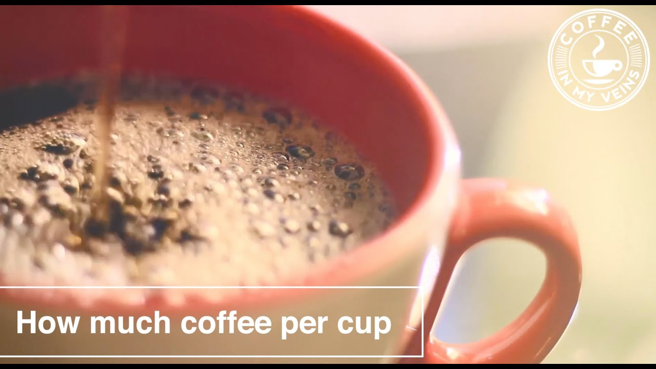How Much Coffee Per Cup Coffee To Water Ratio Calculator