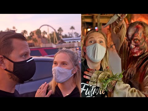 Busch Gardens Tampa Bay Halloween Date Night! | Howl-O-Scream 2021!