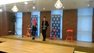 """Ferry & Tasya """"BERJANJI"""" Grand launching live warner music malaysia"""