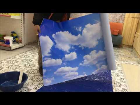 Duvar kağıdı posteri nasıl uygulanır?