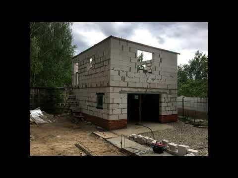 Постройка  гаража)
