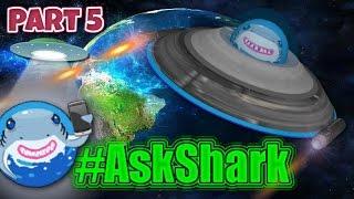 Agar.io - Part 5, Pikachu Attack & Shark Family! #AskShark