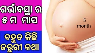 5 month pregnancy or 20 weeks pregnant symptoms and baby growth|sonam odia tips