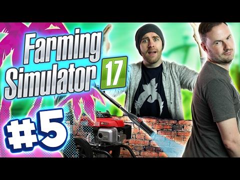 Farming Simulator 2017 w/ Sjin - Ass Blaster #5