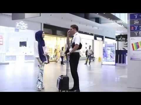 """I miss you too, baby"" Warda Erina & Ejaz Fakhri | Neelofa & Fattah Amin | SURI HATI MR PILOT"