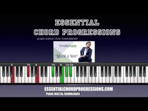 Chords to Made A Way by Travis Greene (Easy Piano Tutorial)