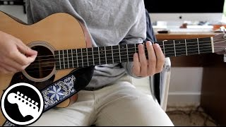 """How to Play """"Start Me Up"""" by The Rolling Stones - Keith Richards Guitar Lesson"""