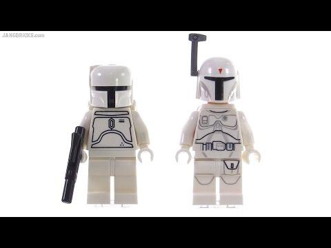 Lego Star Wars Limited Edition 2010 White Boba Fett 2015