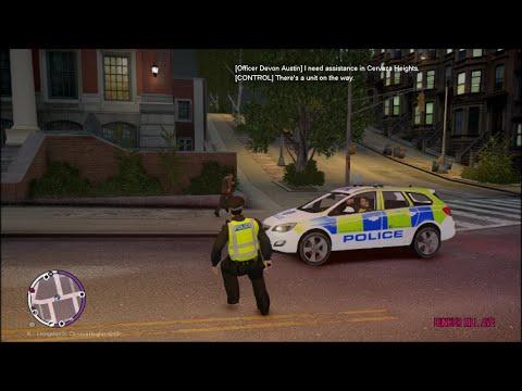 GTA IV LCPDFR 1.1 Police Scotland Patrol 3