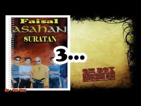 Faisal Asahan - Suratan + Lirik | Slow Rock
