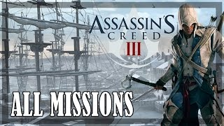 Assassin's Creed 3 - All Missions | Full Game