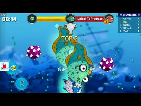Eatme.io EEL New Fish Type Is Just Unlocked! OMG!!