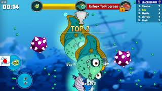 Eatme.io EEL new fish type is just unlocked! OMG!!