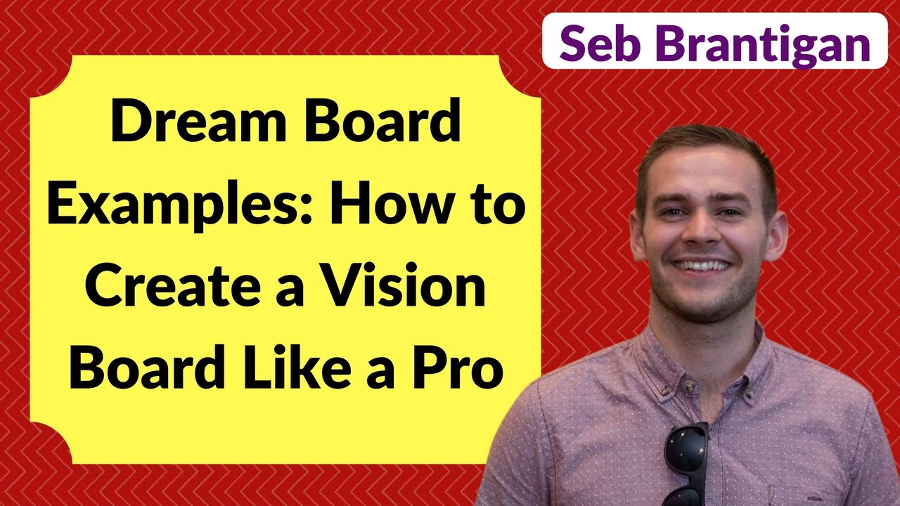 Dream Board Examples How To Create A Vision Board Like A Pro Youtube