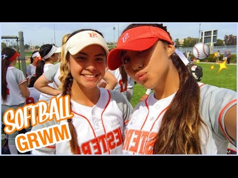 HOW I GET READY FOR A SOFTBALL GAME! | Ronni Rae
