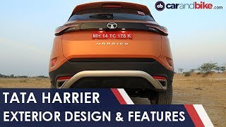 Tata Harrier: Exterior Design And Features | NDTV carandbike