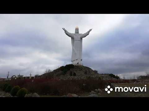 Иисус Христос самая большая статуя в мире в Свебодзине Польша