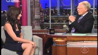 Jennifer Lawrence on The Late Show with David Letterman