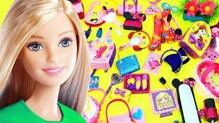 100 DIY Miniature Barbie Dollhouse Accessories  & Lifehacks #7  - simplekidscrafts