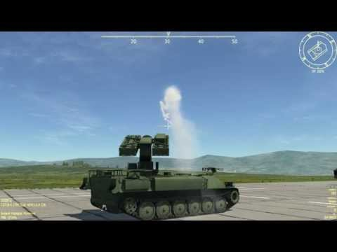 DCS: Combined Arms Test #3 (DCS World 1.5.1)