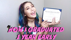 ★HOW I GRADUATED A YEAR EARLY & GOT ACCEPTED INTO A UNIVERSITY★ // LIFEBEINGDEST