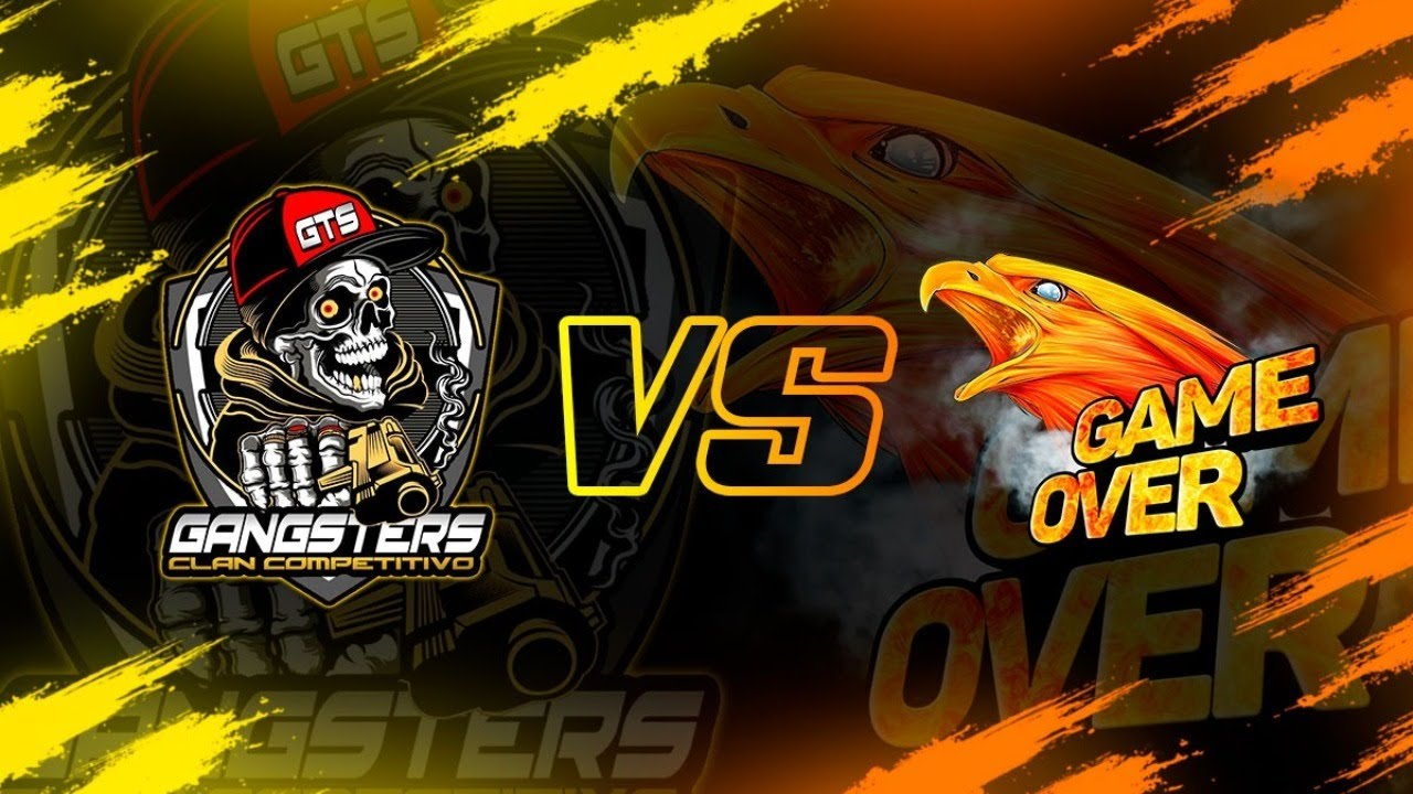 GAME OVER VS GANGSTERS (VERSUS DE CLANES LEGENDARIO EN FREE FIRE)