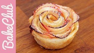 Apfel-Blätterteig-Rosen | Doros Backstube